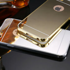 Luxury Ultra-Thin Mirror Soft Silicone Gel Case Cover For Apple iPhone 6 7 Plus