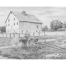 Sketching Made Easy Kit 9 Inch X 12 Inch-Country Wagon 090672068422