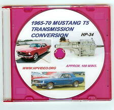 1965 1966 1967-70 Ford Mustang T5 Five Speed Transmission Conversion Video DVD