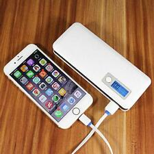 50000mAh 3 USB Power Bank LED LCD External Battery Charger For Smart Phone YU99
