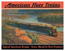Retro Toys AC Gilbert American Flyer Trains Steam Locomotive Poster