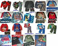 *NWT NEW BOYS DISNEY PIXAR SCOOBY LEGO BATMAN  WINTER PAJAMAS SET 2T 4 6 8