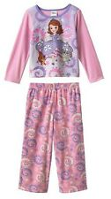 * NWT NEW GIRLS 2PC Disney Princess Sofia  WINTER PAJAMAS SET 3T 4T 4