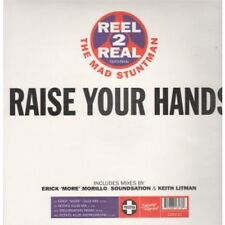 """REEL 2 REAL Raise Your Hands 12"""" 4 Track Erick More Club Mix B/w Keith's Klub Mi"""