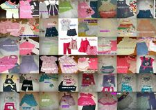 * NWT NEW GIRLS 2PC OR 3PC SUMMER OUTFIT SET 3m 6m 9m 12M 18M 24M 2T 4T