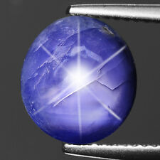 Blue Sapphire Oval Cabochon Shape 6.3 cts Loose Gemstone Natural Sapphire F563