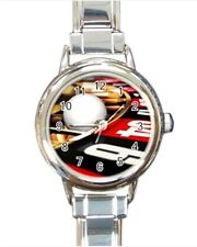 Roulette Gambling Casino Italian Charm Watch (Battery Included)