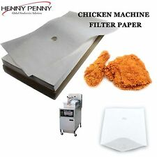 CHICKEN MACHINE FILTER PAPER HENNY PENNY AND SOUTHERN FRIED CHICKEN MACHINE