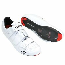 GIRO Prolight SLX II Carbon Fiber Road Racer Bike Shoes , Gloss White
