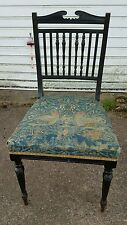 Solid oak Antique hall/Bedroom chair