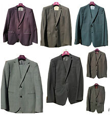 Mens Next Suit Tailoring Slim Fit Suits Blazer 40Short And Trousers 32Short