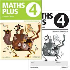 NEW Maths Plus VIC Australian Curriculum Ed Student and Assessment Book 4 Value