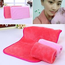 Microfiber Make Up Removal&Facial Cloth Towel Beauty Comfort Skin face Washcloth