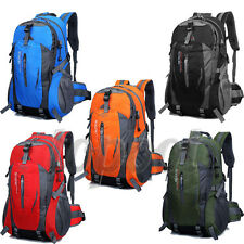 40L Outdoor Hiking Camping Waterproof Nylon Travel Luggage Rucksack Backpack Bag