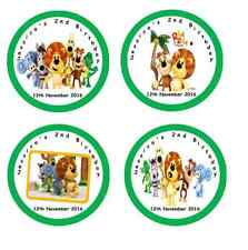 Personalised RAA RAA THE NOISY LION Self Adhesive Glossy Labels/Stickers