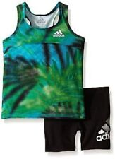 Adidas Baby Girls Run with Me Tunic Set 12 to 24 Months MSRP $36.00 NWT