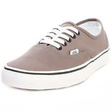 Vans Authentic Mens Unisex Trainers Grey New Shoes