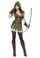 California Costumes Collections 01358 Adult Lady Robin Hood