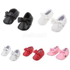 Baby Infant Bow Crib Boy Girl Newborn Crib Shoes Soft Sole Leather Suede Tassel