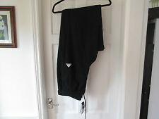 Mens Adidas Climalite Joggers, Training Pants, 2XL, Black, Elasticated Bottoms
