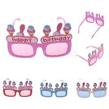 Funny Party Happy Birthday Ice-cream Novelty Sunglasses Glasses Holiday Supplies
