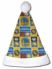 NEW NBA Golden State Warriors Christmas Basketball Santa Hat Personalized 18""