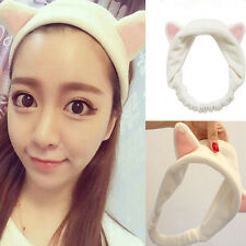 Womens Girls Grail Cute Cat Ears Headband Hair Head Band Party Gift Headdress#