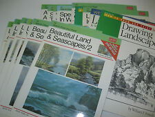 Rare New Walter Foster Art Books How to Draw & Paint Landscapes PL choose your #