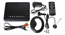 "PORTABLE TV 7"" - 9"" TFT LCD Multimedia Analog PAL/NTSC/SECAM,USB,SD, AV FM Radio"