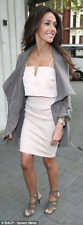 BNWT New LIPSY Michelle Keegan Pink Layered Top Two In One Pencil Dress 14 £65