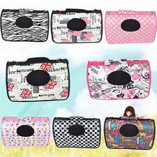 Puppy Dog Cat Pet Tote Carry Carrier House Kennel Pet Cage Portable Travel Bag