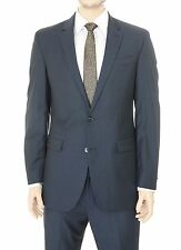 Kenneth Cole New York Medium Blue Two Button Wool Suit