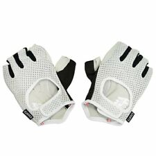 GIRO LX Modern Performance Meets Classic Style Short Finger Gloves, White