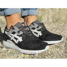 Scarpe Asics Gel Lyte III hl6b1 9010 Synthetic Leather man trainers Black Soft G
