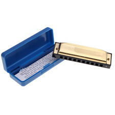 Swan Harmonica 10 Hole Key of G for Blues Rock Folk Jazz country Harmonica