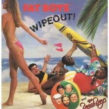 """FAT BOYS AND THE BEACH BOYS Wipeout 12"""" 3 Track Wave 1 Version B/w Wave 2 Versio"""
