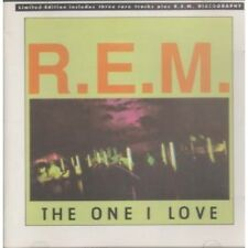 REM One I Love CD 4 Track Limited Edition With Discography B/w Driver Eight Live