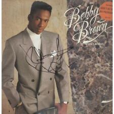 BOBBY BROWN Don't Be Cruel LP 9 Track With Signed Sleeve (mcf3425) UK Mca 1988