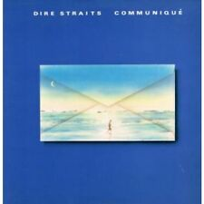 DIRE STRAITS Communique LP 9 Track Embossed Sleeve With Inner (9102031) UK Verti