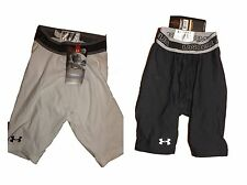 Under Armour boys thermal sports skins compression shorts age 6-8 or 8-10 BNWT