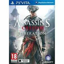 Assassins Creed III Liberation Sony PS Vita Used No Manual