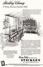 1953 Stickley Cherry: Living American Furniture Style Print Ad (8973)