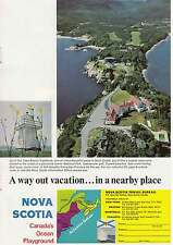 1968 Nova Scotia: Cape Breton Highlands Print Ad (12992)
