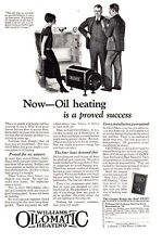 1925 Williams Oil O Matic Heating: Oil Heating Proved Success Print Ad (23925)