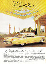 1960 Cadillac: Maybe This Could Be Your Someday Print Ad (24273)