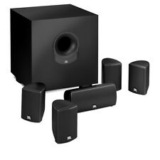 JBL SCS145.5BK-Z 6-piece Home Cinema Speaker System with Powered Subwoofer