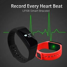 Bluetooth Smart Bracelet Watch Phone Mate Sports Heart Rate Tracker+Android iOS