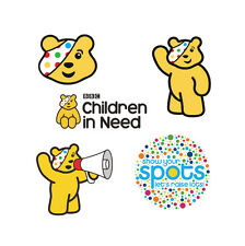 Children In Need Pudsey Charity Iron On T-shirt Vest Heat Transfer CHOOSE Print