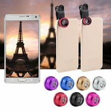 3 in1 Fish Eye+ Wide Angle + Macro Camera Clip-on Lens for iPhone 6/ Plus/ 5/7 #