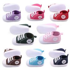 Baby Toddler Shoes Newborn Soft Sole Crib Shoes Prewalker Cozy Sneakers 0-1Y
